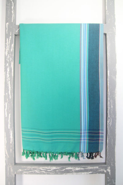 Kikoy Sarong Emerald Colour