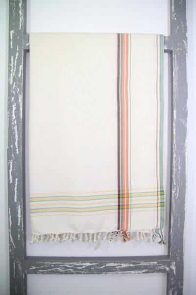 Kikoy Sarong Ivory Colour