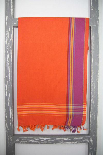 Kenyan Kikoi Sarong Namaqua Colour