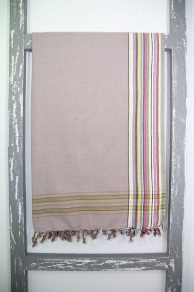 Kenyan Kikoy Sarong Pangolin Colour