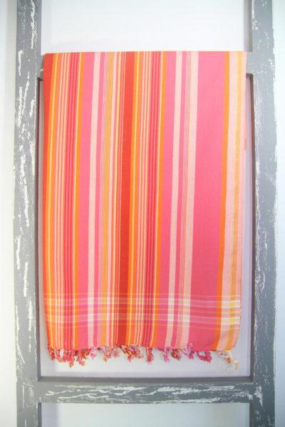 Kenyan Kikoy Sarong Stripy Swahili Colour