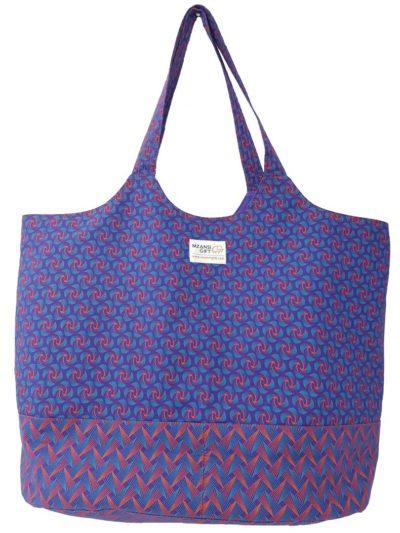 Blouberg Design Shweshwe Lekker Bag by Mzansi Gift