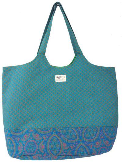Gugulethu Design Shweshwe Lekker Bag by Mzansi Gift
